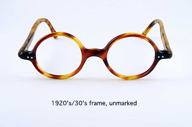 1920s/30s frame, unmarked