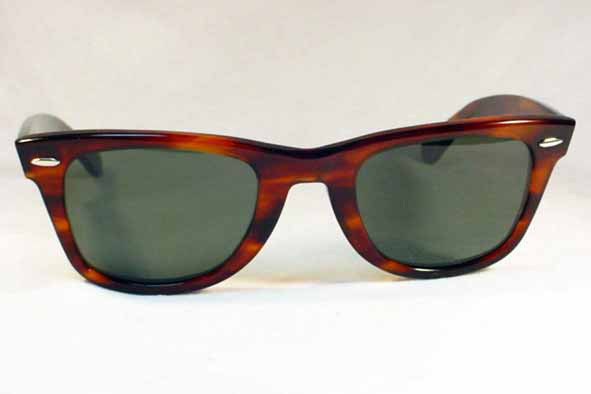 vintage ray-ban : 1980's Ray-Ban <i>Wayfarer</i> by BAUSCH & LOMB