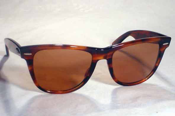 vintage ray-ban : 1980's Ray-Ban <i>Wayfarer II</i> by BAUSCH & LOMB