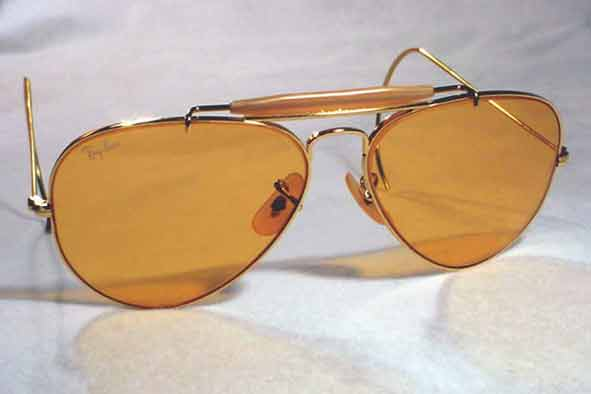 vintage ray-ban : 1980's Ray-Ban <i>Outdoorsman</i> by BAUSCH &#38; LOMB