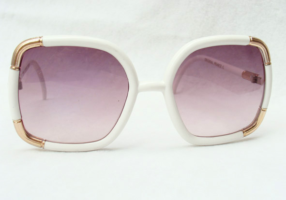 vintage sunglasses : 1980s by TED LAPIDUS (FRANCE).