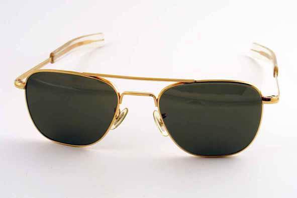 vintage sunglasses : 1950's/60's US Military issue aviators by AMERICAN OPTICAL