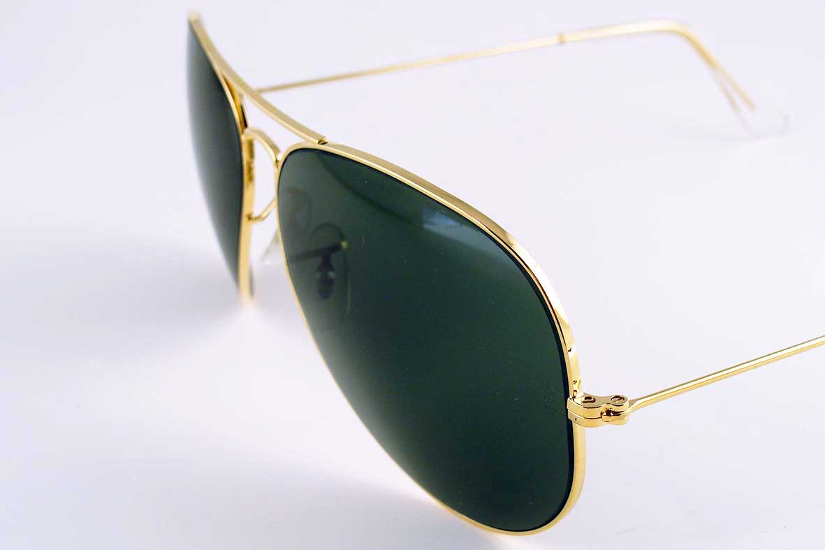 9108323b8f2 ... norway vintage sunglasses unisex 1980s 90s ray ban aviator by bausch  lomb 4471c bcdbf